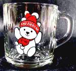 Lazziebear Glass Mug - Lazurus