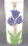 Swanky Swig Tulip Glass - Blue And Green