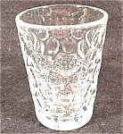 Antique Pattern Glass Thumbprint Tumbler