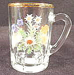 Miniature Glass Souvenir Mug - Frankenmuth, Michigan