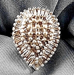 Baguette Diamond Ring - 10k Yellow Gold - Size 5.5