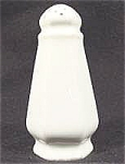 Kitchen Collectibles - White Porcelain Shaker -