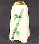 Kitchen Collectibles - Porcelain Salt Shaker - Bamboo