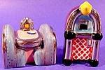 Juke Box & Booth Salt & Pepper Shaker Set