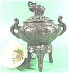 Bronze Elephant Censer - Tri-footed - Incense Burner