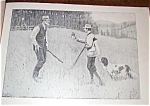 A.b. Frost Hunting Vintage Print Conciliator
