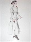 Henry Hutt Print: Victorian Lady Equestrian Horseback Riding