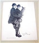 Victorian Equestrian Prints: Clarence Underwood Horseback Riding