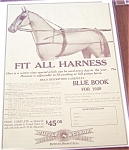 Equestrian Prints: Vintage Ads: Horse Harness