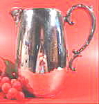 Silverplate - Water Pitcher - Rogers