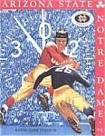 Football Program 1999 - Notre Dame- Arizona State