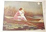 Vintage Art Calender 1917 Zula Kenyon Print Alone