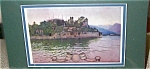 Vintage Art Maxfield Parrish Isola Bella Antique Print