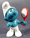 Mirror Smurf Character Collectible - 1980 Peyo