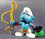 Animal Trainer Smurf - 1979 Peyo - Schleich Germany