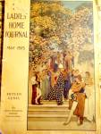 Vintage Maxfield Parrish Magazine Cover Ladies Home Journal 1913