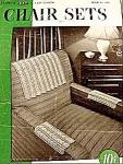 Chair Sets Knit & Crochet - Coats & Clarks No. 223