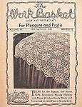 The Work Basket Knit & Crochet Book - September 1949