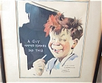 Arthur Jameson Original Watercolor Painting To Dentist
