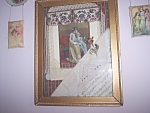 Antique Mother And Daughter Victorian Collage Art Print