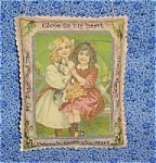 Sisters Victorian Art Print Door Wall Drawer Sachet