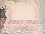 Decorative Throw Pillow Roses Handmade Shabby Victorian