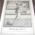 Jessie Willcox Smith Illustration Print : Childhood