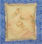 Victorian Art Door Wall Drawer Sachet Baby Girl Angels