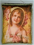 Victorian Girl Art Print Door Wall Drawer Sachet