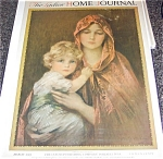 Philip Boileau Madonna And Child Ladies Home Journal Cover