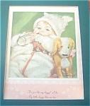 Vintage Prints: Baby W/ Dog ; Maud Tousey Fangel