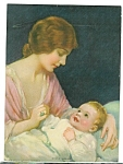 Vintage Print J Knowles Hare Mother And Baby