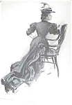 """Harrison Fisher Litho """"jane Cable"""" 1906"""