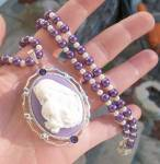 Madonna And Child Religious Jewelry Necklace