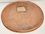 Signed Dated 1813 Redware Charger Mold Extra Rare