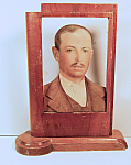 Photo Carved Wood Folk Art Frame 3-dimensional [a]