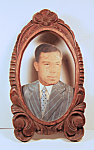 Photo Carved Wood Folk Art Frame 3-dimensional [b]