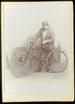 Ny, Ny Bicycle Photograph C 1890