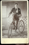 1890 Man With Bicycle