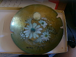 Sasha Brastoff Enameled Plate/ashtray
