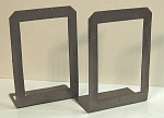 Roycroft Large Pierced Bookends