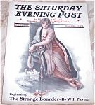 Saturday Evening Post Magazine: Nikolaki Cover Lady, Cat