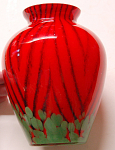 Kralik Art Deco Design Vase W/rare Pattern