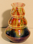 Kralik Irridized/carnival Finish Vase Signed