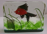 Gino Cenedese Co Sommerso Aquarium Block W1 Fish