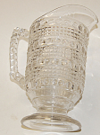 Eapg Pitcher Pattern Banded Raindrops Aka Candlewick