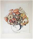 Vintage Prints: Flowers: George Sheringham 1930's