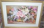 Large Framed Floral Print: Vase Of Flowers: Gorgeous
