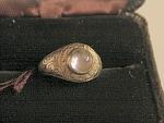 Amethyst Cabachon Ring Circa 1900