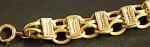 12k Victorian Gold Bracelet Circa 1875